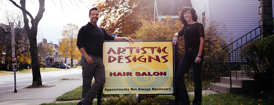 Artistic Designs Hair Salon.